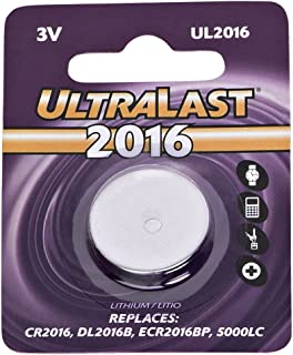 Ultralast - Watch/Electronic Lithium Button Cell Battery Retail Pack - Dl1216b Equivalent