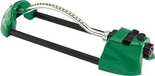 Dramm Nozzle Jets, Green 15004 ColorStorm Premium Metal Oscillating Sprinkler with Brass