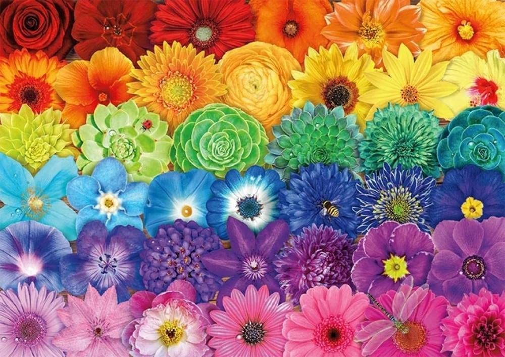 Jigsaw Puzzles Max 53% OFF Same day shipping for Adults (Flowers) Pu DIY Kids Large