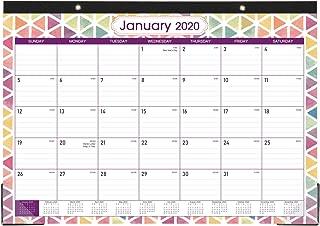 2020 Desk Calendar - Desk Calendar 2020, Large Monthly Page Desk Calendar, Jan 2020 - Dec 2020, 17