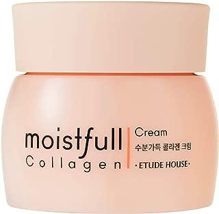 ETUDE HOUSE Moistfull Collagen Cream (1.76 ounces) - Skin Care Facial Moisturizing Night Cream - Anti Aging Wrinkle, Acne for women