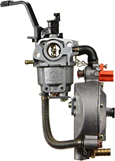 Alamor Carburador Dual Del Combustible Para El Motor Del Generador De La Bomba De Agua De Gx160 168F