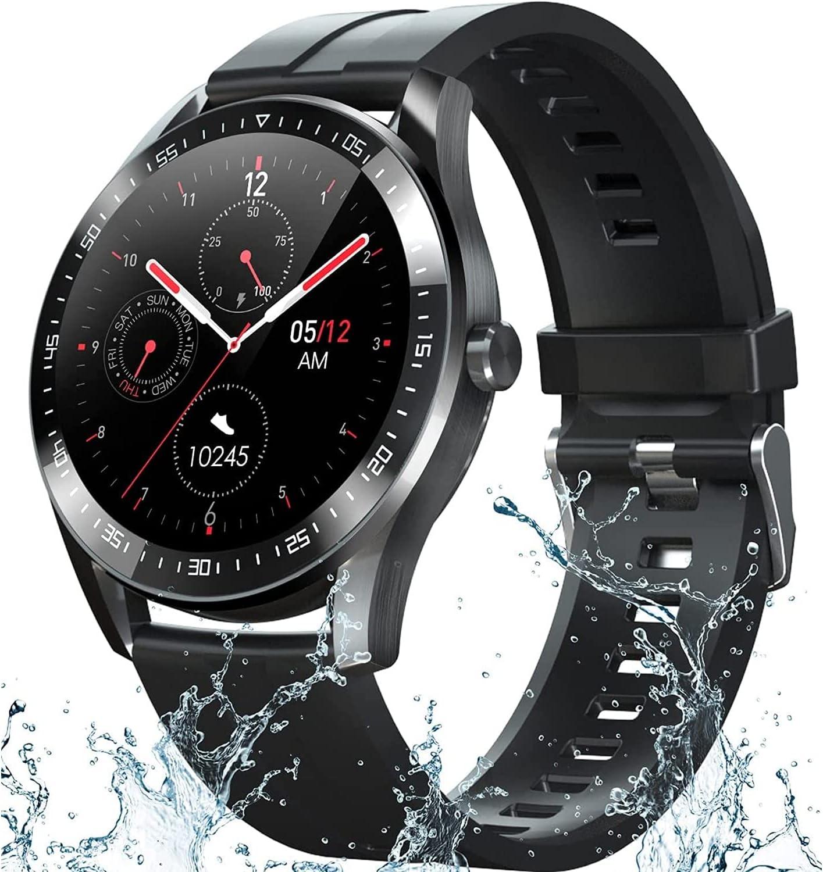 Smart Watch Fitness Tracker half for Body Temperat Android Phones Regular discount iOS