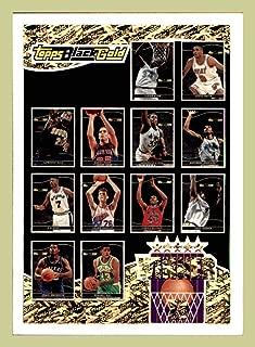 1993-94 Topps Black Gold #B1 Winner B 14-25 EXCHANGE Shaquille O'Neal Anfernee Hardaway MAGIC Chris Webber WARRIORS Jamal Mashburn MAVERICKS etc. (ast)