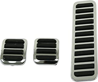 EMPI 4551 Pedal Covers, Brake, Clutch & Accel., 3-Piece Set, VW Type 1 Bug, Type 2 Bus, 55-67, All Type 3