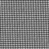 Anzugstoff Stretch Hahnentritt – schwarz/weiss —