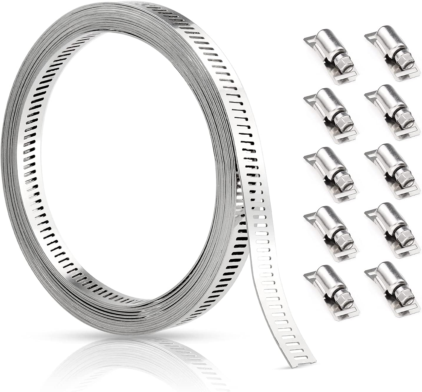 Clamps Ranking TOP20 Hose Stainless Steel Ranking TOP4 Worm 15 FIXITOK Clamp Feet Cla