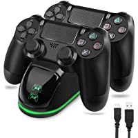 TGJOR DualShock 4 PS4 Wireless Controller with USB High-Speed Charging Dock