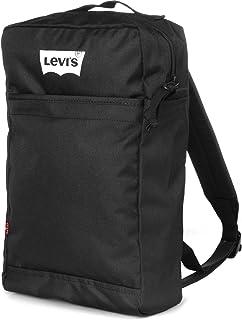 Levi's Erkek L Pack Printed Camo Sırt Cantası, Siyah