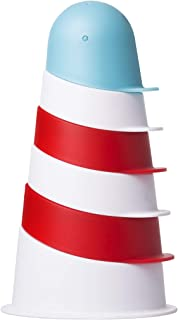 Ubbi Lighthouse Stacking Cups Bath Toy