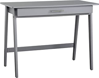 Target Marketing Systems Renata Wooden Home Office Desk, Gray