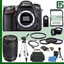 Nikon D7100 DSLR Camera (Body Only) + Nikon AF Zoom-NIKKOR 70-300mm f/4-5.6G Lens + 64GB Green's Camera Bundle 4