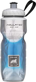 Polar Bottle Insulated Water Bottle 20 oz - 100% BPA-Free Cycling and Sports Water Bottle - Dishwasher & Freezer Safe (Blue, 20 ounce)