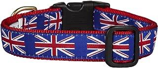 Up Country Union Jack Dog Collar - Medium