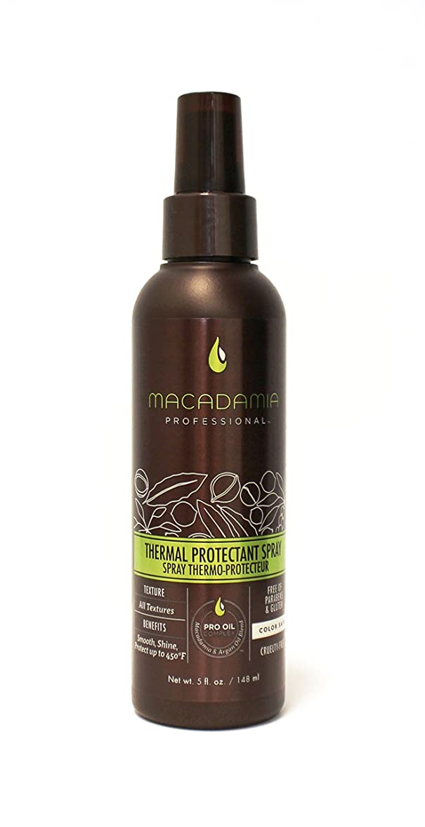 日食副詞過ちマカダミアナチュラルオイル Professional Thermal Protectant Spray 148ml/5oz並行輸入品