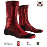 X-Socks Socks Trek X Cotton, Dark Ruby/Fire Red, 35-38, XS-TS05S19U-R009-35/38