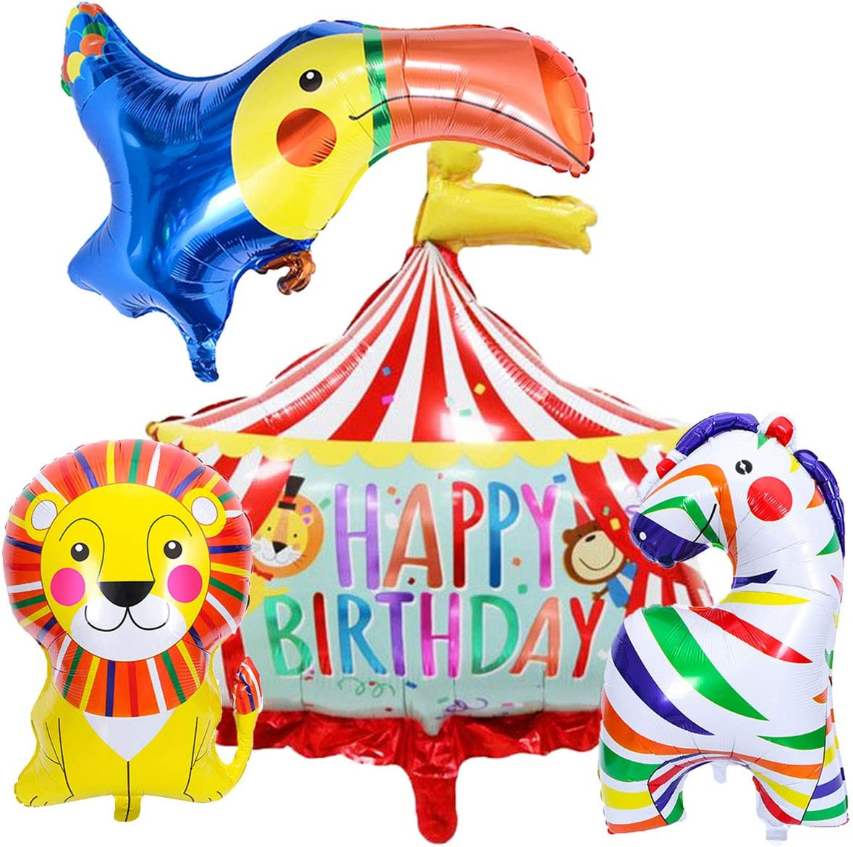 Circus Foil Balloon Bundles