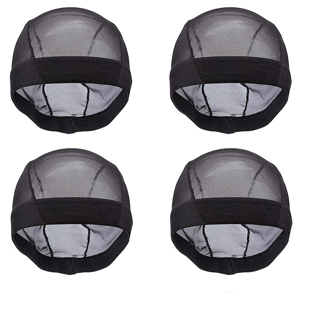 4 Packs trust Wig Caps for Making Dome Mesh C Wigs Raleigh Mall -