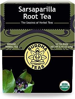 Organic Sarsaparilla Tea - Kosher, Caffeine-Free, GMO-Free - 18 Bleach-Free Tea Bags