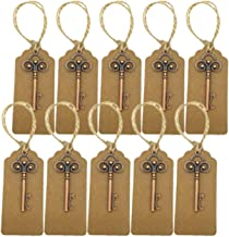 Ijsblokje 10 stks Bruiloft Sleutel Flesopener Retro Sleutelhanger Gegraveerde Kurkentrekker Opener Gift Idea Gepersonalise...