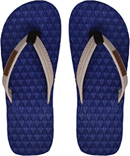 Electra Kids Blue Color Thong-Style Slippers and Flip Flops