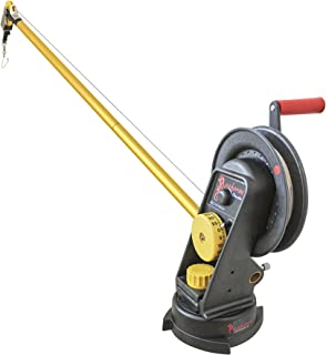 Seahorse Manual Downrigger with Swivel Base and Extended Boom by Troll-Master