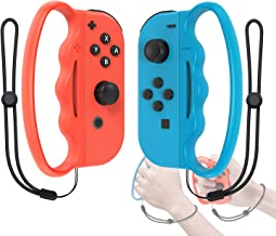 Fitness Boxing Hand Grip for Nintendo Switch Joy Con Controller, Handle Grip for Switch Fitness Boxing Games
