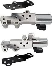 VVT Valve Engine Variable Timing Solenoid Left Right 2pc Set for 2003-2010 Nissan Infiniti 23796-EA20A 23796-EA20B