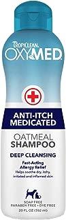 tropiclean medicated oatmeal shampoo
