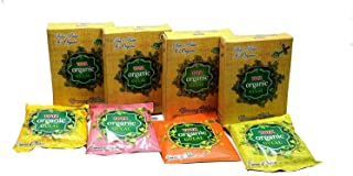 VRINDAVANBAZAAR.COM Tota Organic Holi Color Powder Gulal Herbal Skin-Safe & Non-Toxic 1 Box- Pack of 4