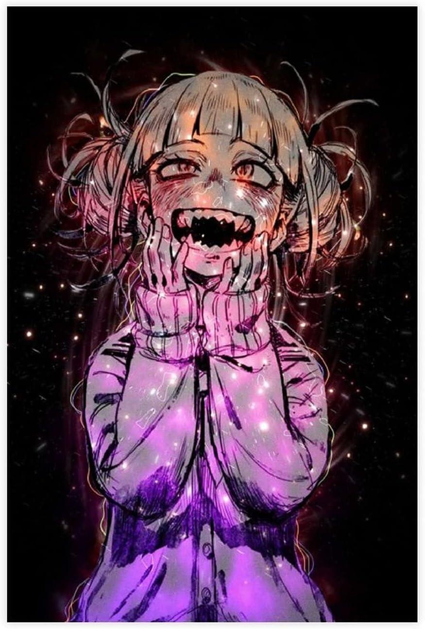 My Hero Academia Anime Himiko Toga Poster De Low price Canvas Room 19 Girl Great interest