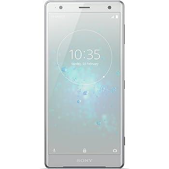 "Sony Xperia XZ2 Smartphone, Display 5.7"", 64 GB, Processore Qualcomm Snapdragon 845 Mobile, Mono Sim, Bianco/Argento [Italia]"