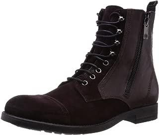 Men's D-Kallien Fashion Suede/Leather Boots Shoes