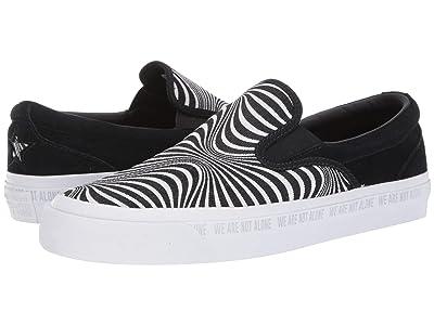 Converse One Star CC Slip Moonshot Slip (Black/White/White) Classic Shoes
