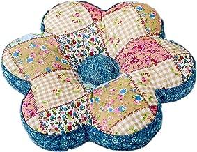 Abreeze 16x16 Shabby Floral Chair Cushion/Pad Seat Cushion Pillow Rose Print Cushion for Girls