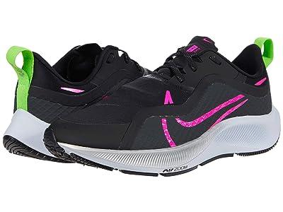 Nike Air Zoom Pegasus 37 Shield (Black/Pink Blast/Iron Grey/Obsidian Mist) Men