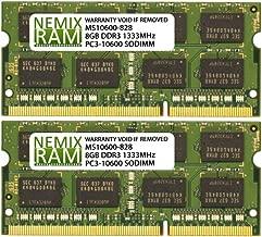 16GB 2X8GB NEMIX RAM Memory for Apple MacBook Pro 2011