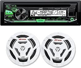 JVC KD-R97MBS Bluetooth Marine Radio and a Pair of JVC CS-DR6201MW 6.5