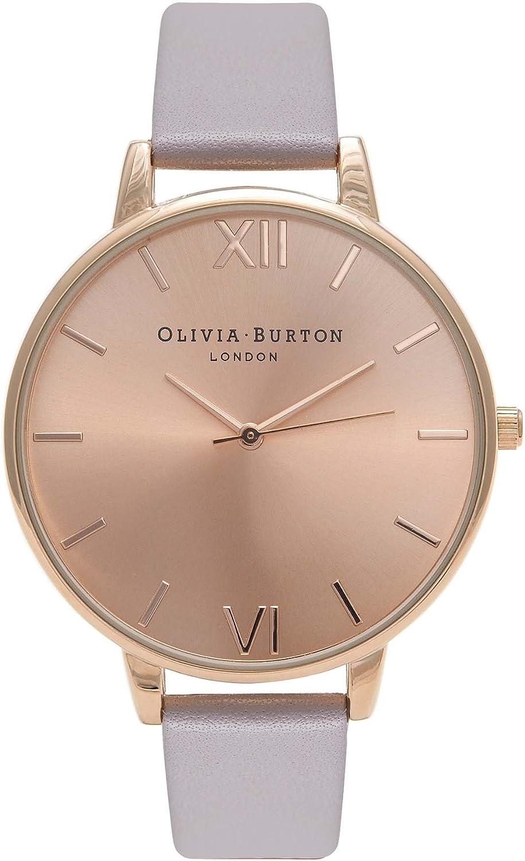 Olivia Burton Big Dial Rose Watch Las Vegas Mall Max 84% OFF Gold Women's OB15BD58