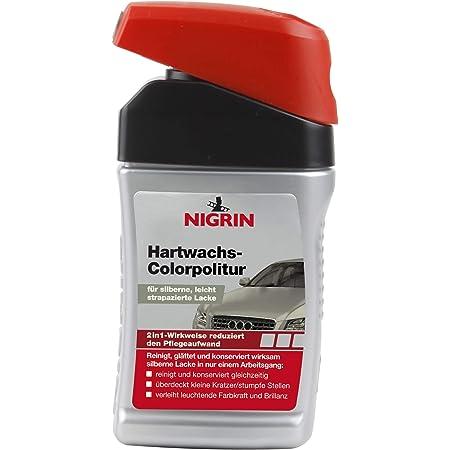 Nigrin 72947 Hartwachs Colorpolitur Silber 300 Ml Auto