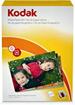 Kodak G-200 EasyShare Printer Dock Color Cartridge & Photo Paper Refill Kit