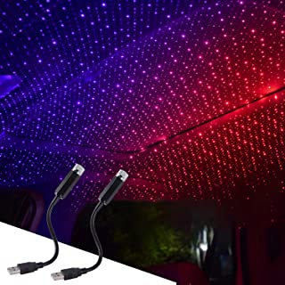 USB Ceiling Light, USB Star Light can be flexibly Adjusted, can be Installed in All car Ceiling, Bedroom Decoration, Part...