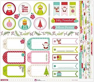Anita y Su Mundo Collection de Noël Papiers de scrapbooking, papier, cartes, 30,5 x 30,5 cm