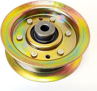 flat idler pulley steel