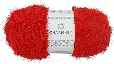 knitting with fluffy yarn