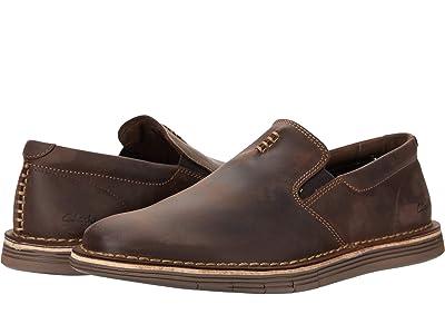 Clarks Forge Free (Dark Brown Leather) Men