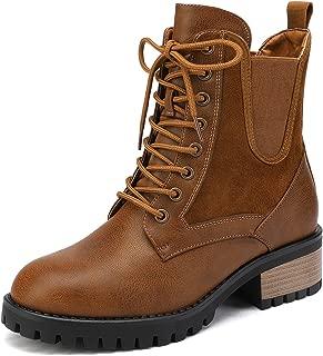 Best tan lace up combat boots Reviews