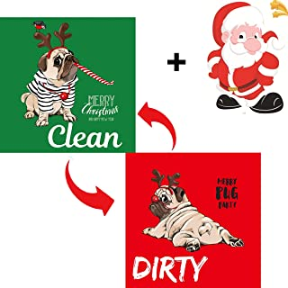 Dishwasher Magnet Clean Dirty Sign Strongest Magnet Universal Kitchen Dish Washer Reversible Indicator