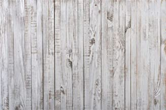 Laeacco Weathered Whitish Wood Plank Photography Background 90cm x 60cm Vinyl Rustic Grunge Vertical Striped Wooden Board Backdrops Children Adults Pets Product Rural Style Photo Shooting