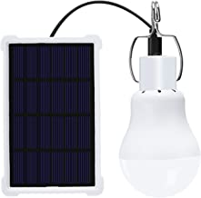 SGJFZD Portable Solar Light Bulb Led Fishing Lights Outdoor Hiking Camping Rechargeable Hanging Lamp Home Energy Lighting